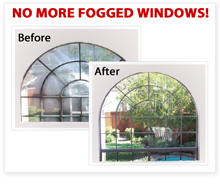 No more fogged windows